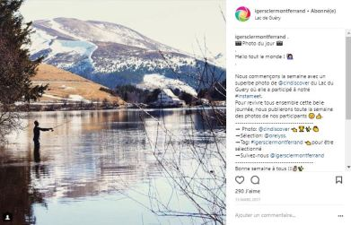 Compte Instagram Igers Clermont-Ferrand